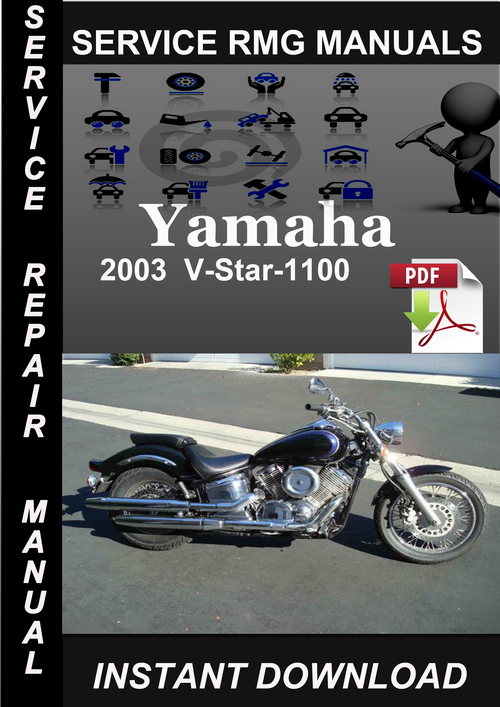 2003 yamaha v star 1100 service repair manual download. Black Bedroom Furniture Sets. Home Design Ideas