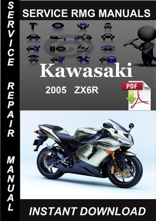 2005 kawasaki zx6r service repair manual download download manual rh tradebit com 05 zx6r 636 service manual 2005 kawasaki zx6r service manual pdf