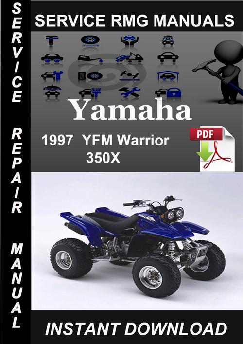 1997 yamaha yfm warrior 350x service repair manual. Black Bedroom Furniture Sets. Home Design Ideas