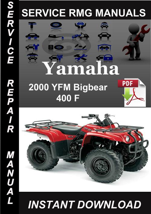 official yamaha yfm big bear x factory service manual.