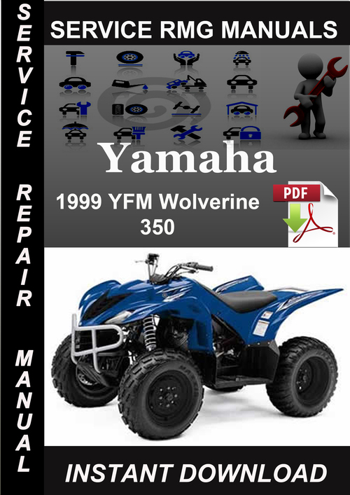 1999 Yamaha Yfm Wolverine 350 Service Repair Manual