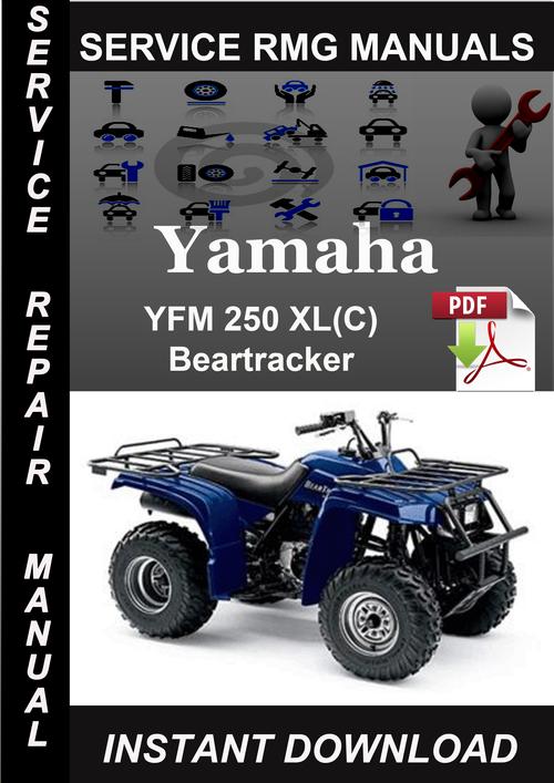 Yamaha Yfm250xl C  Beartracker Service Repair Manual