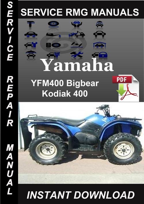 2000 yamaha yfm400 bigbear kodiak 400 service repair. Black Bedroom Furniture Sets. Home Design Ideas