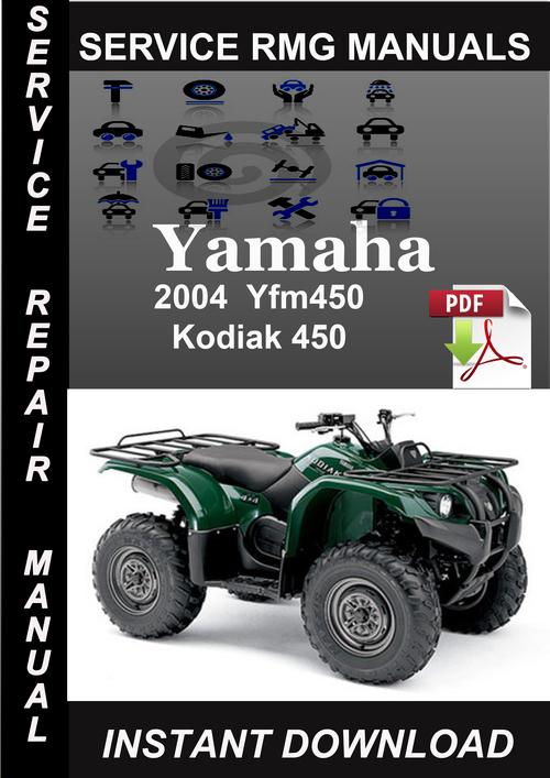 2004 Yamaha Yfm450 Kodiak 450 Service Repair Manual