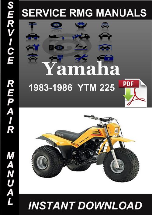 1983 1986 yamaha ytm 225 service repair manual download. Black Bedroom Furniture Sets. Home Design Ideas