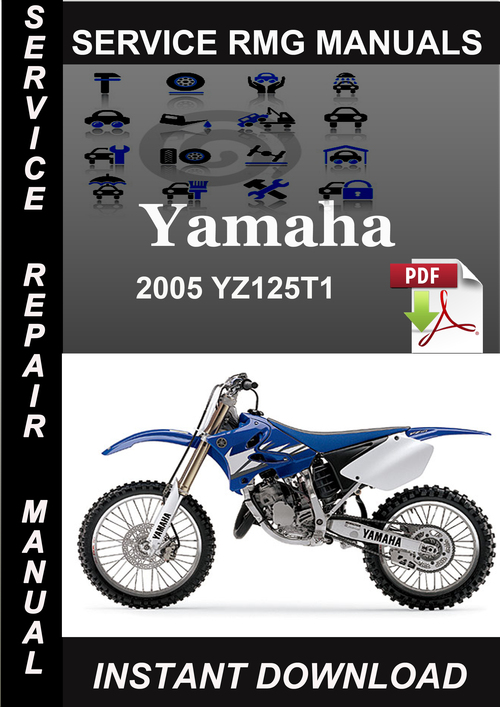 Pay for 2005 Yamaha YZ125T1 Service Repair Manual Download