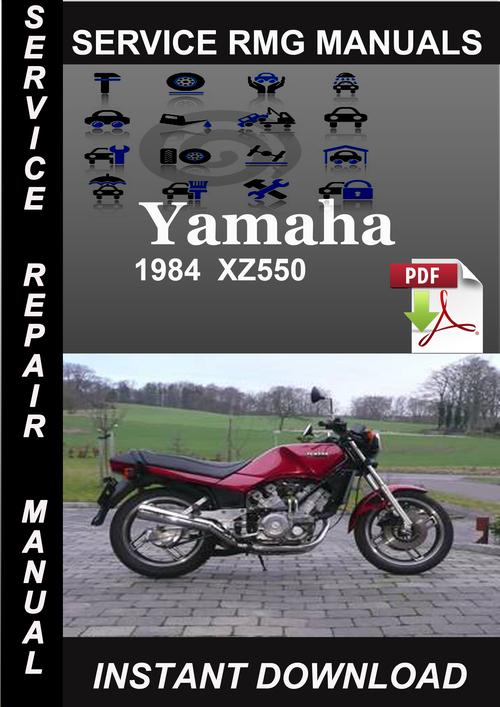 1984 yamaha xz550 service repair manual download. Black Bedroom Furniture Sets. Home Design Ideas