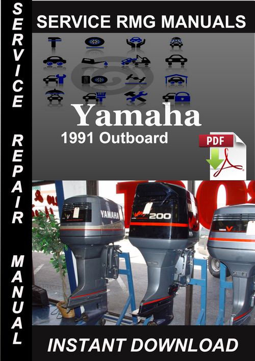 1991 yamaha outboard service repair manual download. Black Bedroom Furniture Sets. Home Design Ideas