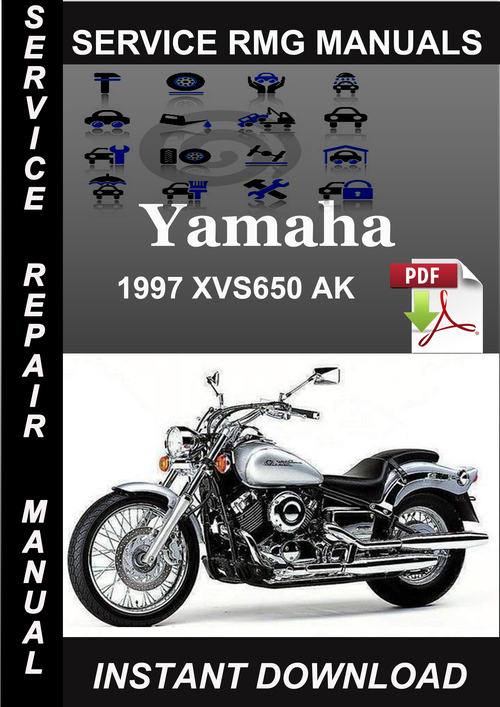 1997 Yamaha Xvs650 Ak Service Repair Manual Download