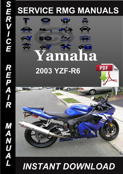 2003 Yamaha Yzf-r6 Service Repair Manual Download
