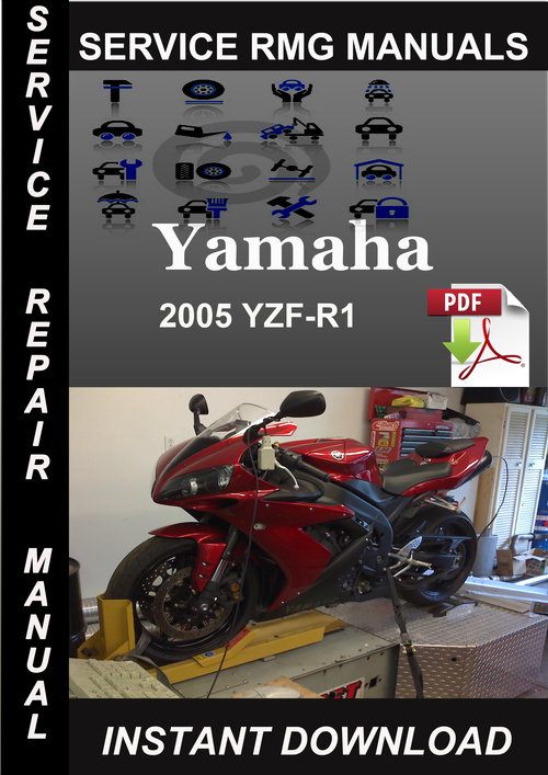 Pay for 2005 Yamaha YZF-R1 Service Repair Manual Download