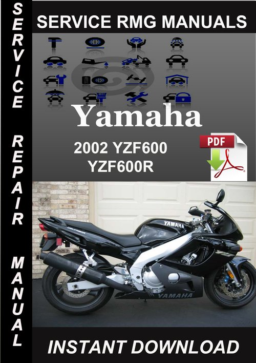 2002 yamaha yzf600 yzf600r service repair manual download. Black Bedroom Furniture Sets. Home Design Ideas