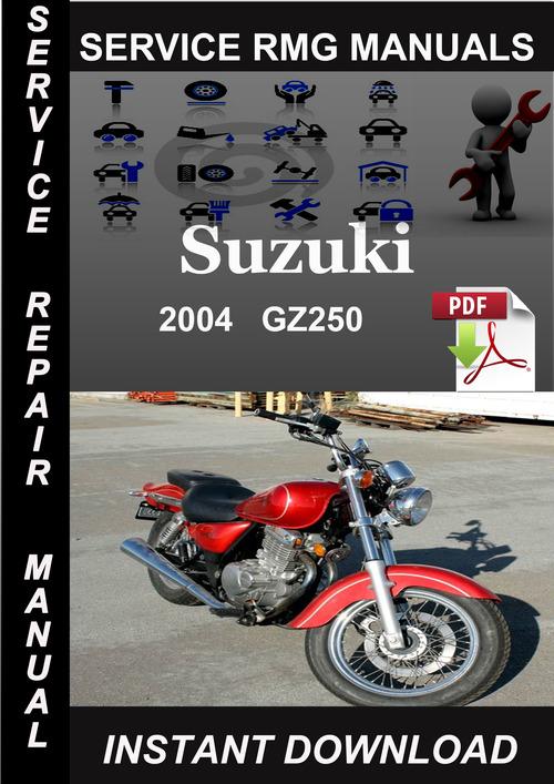 2004 Suzuki Gz250 Service Repair Manual Download
