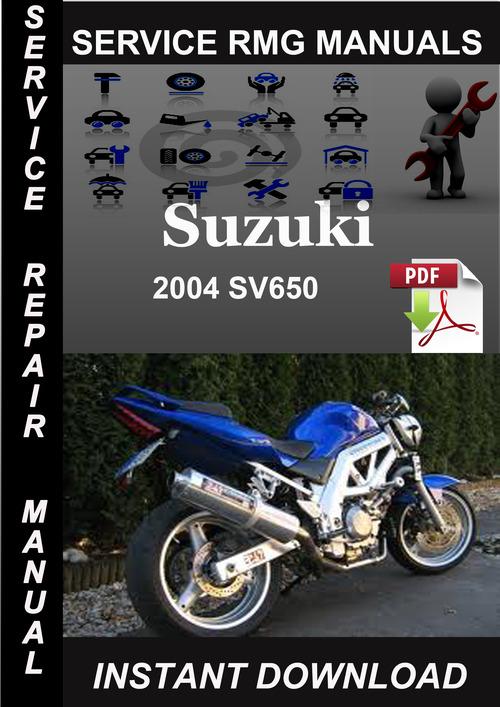 2004 suzuki sv650 service repair manual download download manuals rh tradebit com 2004 sv650 service manual pdf 2004 sv650 owners manual