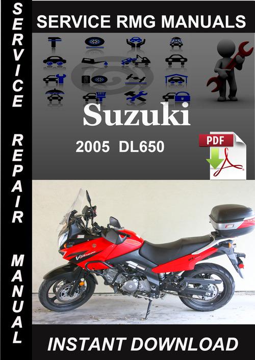 Pay for 2005 Suzuki DL650 Service Repair Manual Download
