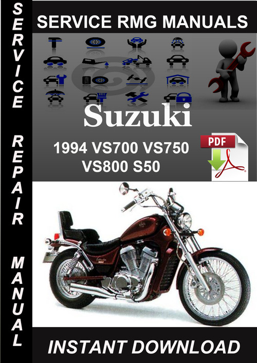 suzuki intruder vs700 vs800 1988 service repair manual