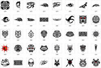 Thumbnail Collection of over 900 Tattoo Designs and patterns