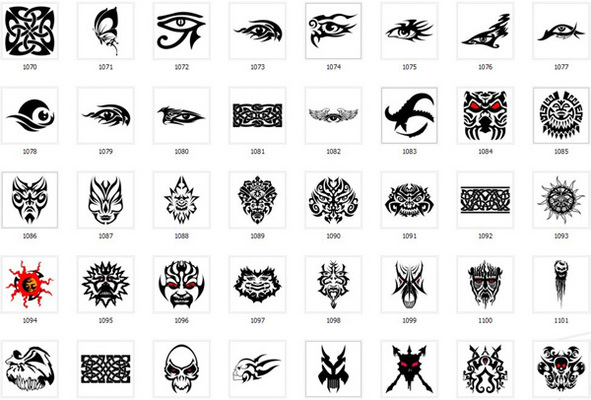 Pay for Collection of over 900 Tattoo Designs and patterns
