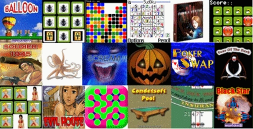 Pay for Cect & Sciphone Game Pack with 28 top Games!