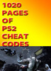 Thumbnail 1020 Pages of PS2 Cheats