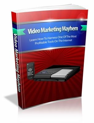Pay for Video Marketing Mayhem  mrr book