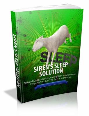 Pay for Sirens Sleep Solution mrr ebook