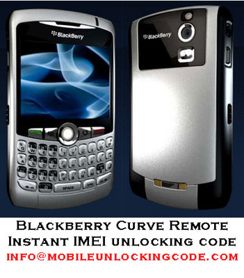 Pay for Blackberry Curve 8900 Unlock Code