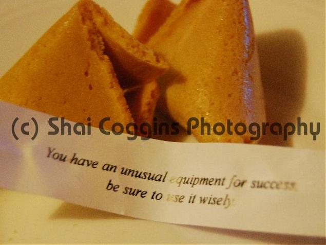 Pay for Photo: Fortune Cookie Success