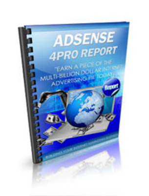 Pay for Master Resell Ebook - Adsense 4Pro Report