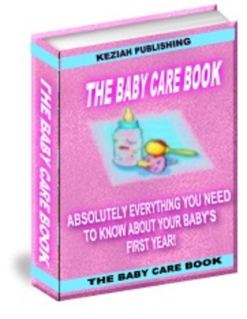 Pay for The Baby Care Book With Full Resell Rights