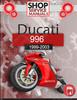 Thumbnail Ducati 996 1999-2003 Service Repair Manual Download