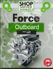 Thumbnail Force Outboard 4 hp 4hp 1 cyl 2-stroke 1984-1987 manual
