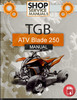 Thumbnail TGB ATV Blade 250 Service  Repair Manual