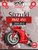 Thumbnail Suzuki RMZ 450 2005-2012 Service Repair Manual Download