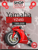 Thumbnail Yamaha YZ450 1999-2009 Service Repair Manual Download