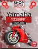 Thumbnail Yamaha YZ250FR 2000-2009 Service Repair Manual Download
