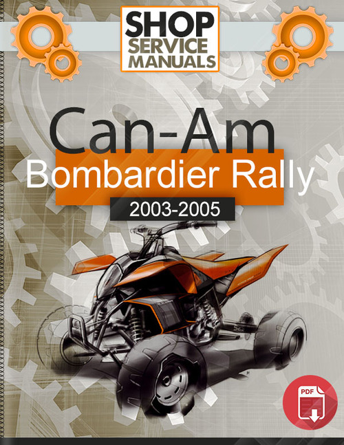 2017 Can Am Rally 200 Service Manual