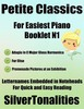 Thumbnail Petite Classics for Easiest Piano Booklet N1