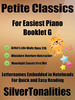 Thumbnail Petite Classics for Easiest Piano Booklet G