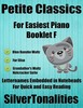 Thumbnail Petite Classics for Easiest Piano Booklet F