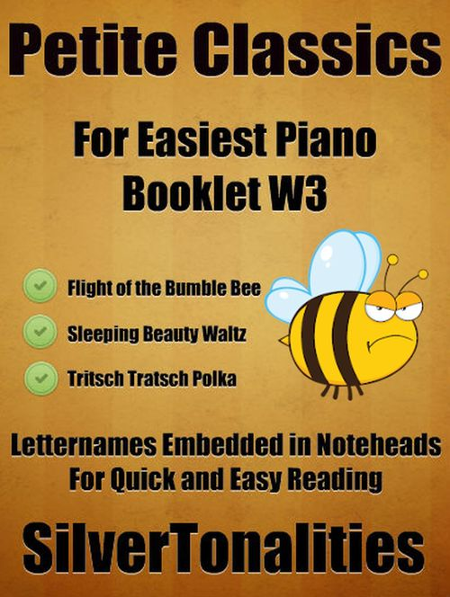 Pay for Petite Classics for Easiest Piano Booklet W3