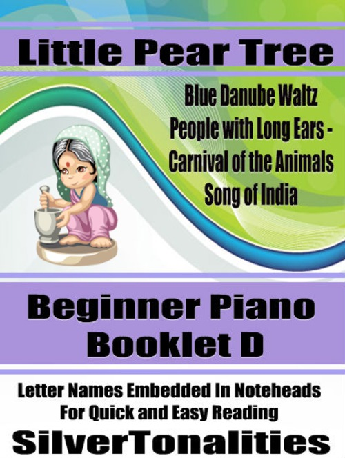Pay for Little Pear Tree Beginner Piano Series Booklet D
