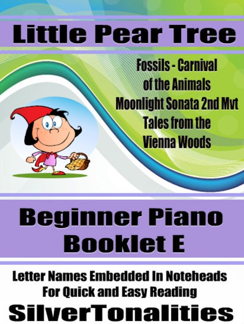 Pay for Little Pear Tree Beginner Piano Series Booklet E