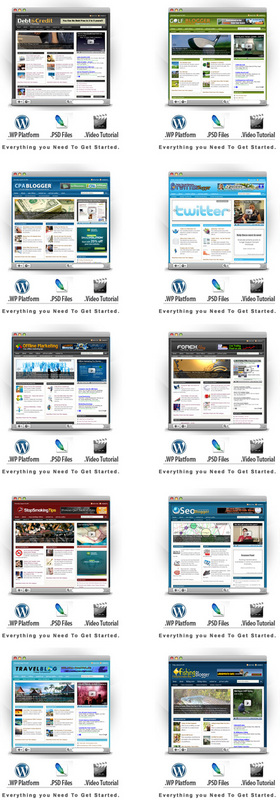 Pay for 10 Niche Blogs for WordPress