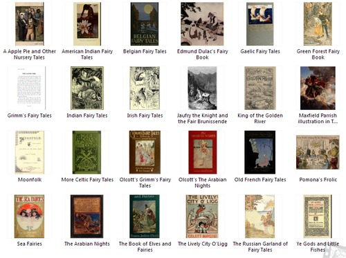 Pay for 26 Vintage Fairy tails on PDF