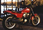 Thumbnail Honda VT500C & VT500D Workshop Repair Manual (English-German-French) 1983