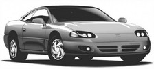 Thumbnail Mitsubishi GTO (3000GT) Service & Repair Manual 1991-1999