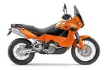 Thumbnail KTM 400-660 LC4 Motorcycle Service & Repair Manual 1998-2003