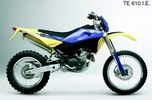 Thumbnail Husqvarna SM610 TE610IE Motorcycle Service Repair Manual 2008 (English Italian Frech Spanish German)