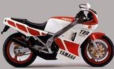 Thumbnail Yamaha TZR250 2MA Motorcycle Workshop Service Manual 1987